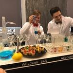 Молекулярный бар на презентации Estel